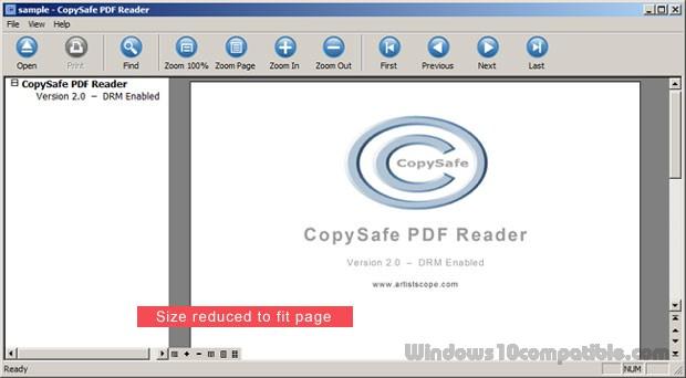 Pdf reader copysafe